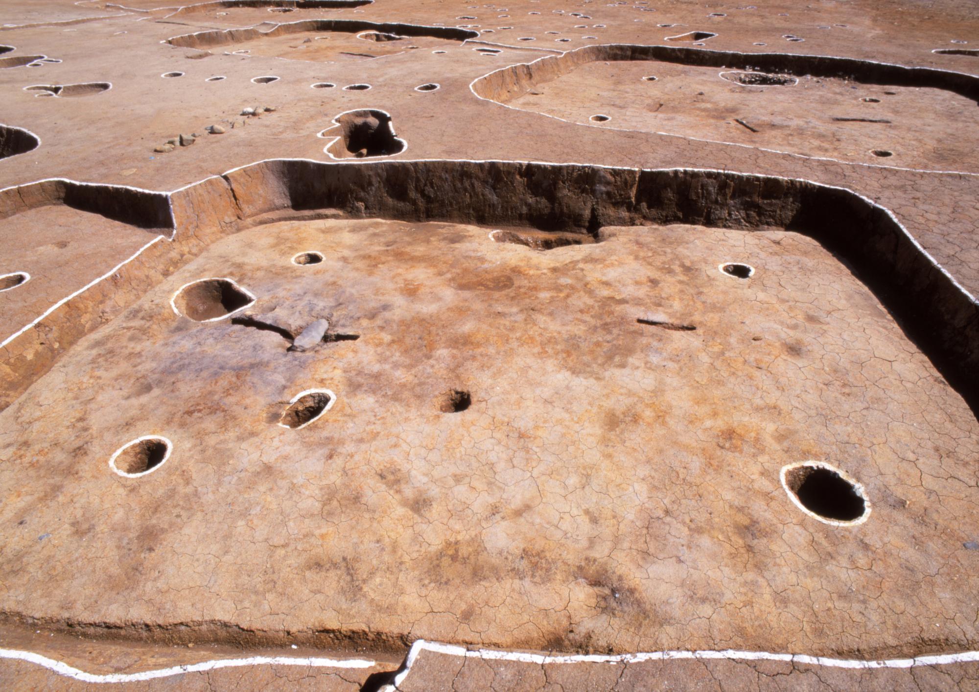 竪穴住居跡